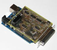 OLSD V4 Arduino Shield Prototype